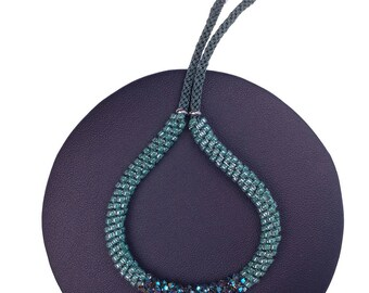 Forest Green Bracelet made with Swarovski® Crystals