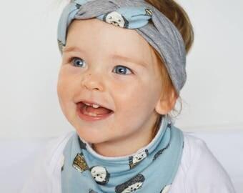 Baby Headband   Girls Headwrap   Girls Head Wrap   Baby Headwrap   Head Wrap   Celtic Headband   Woodland Baby Headband   Toddler Topknot