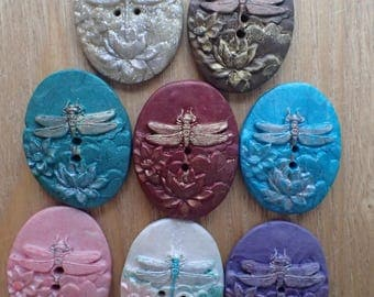 Dragonfly Buttons