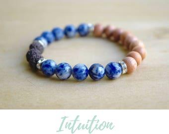 Sodalite Bracelet /mother in law gifts,sister gift bracelet,meditation bracelets,spiritual mom gift,bff gifts for women,gift from son to mom