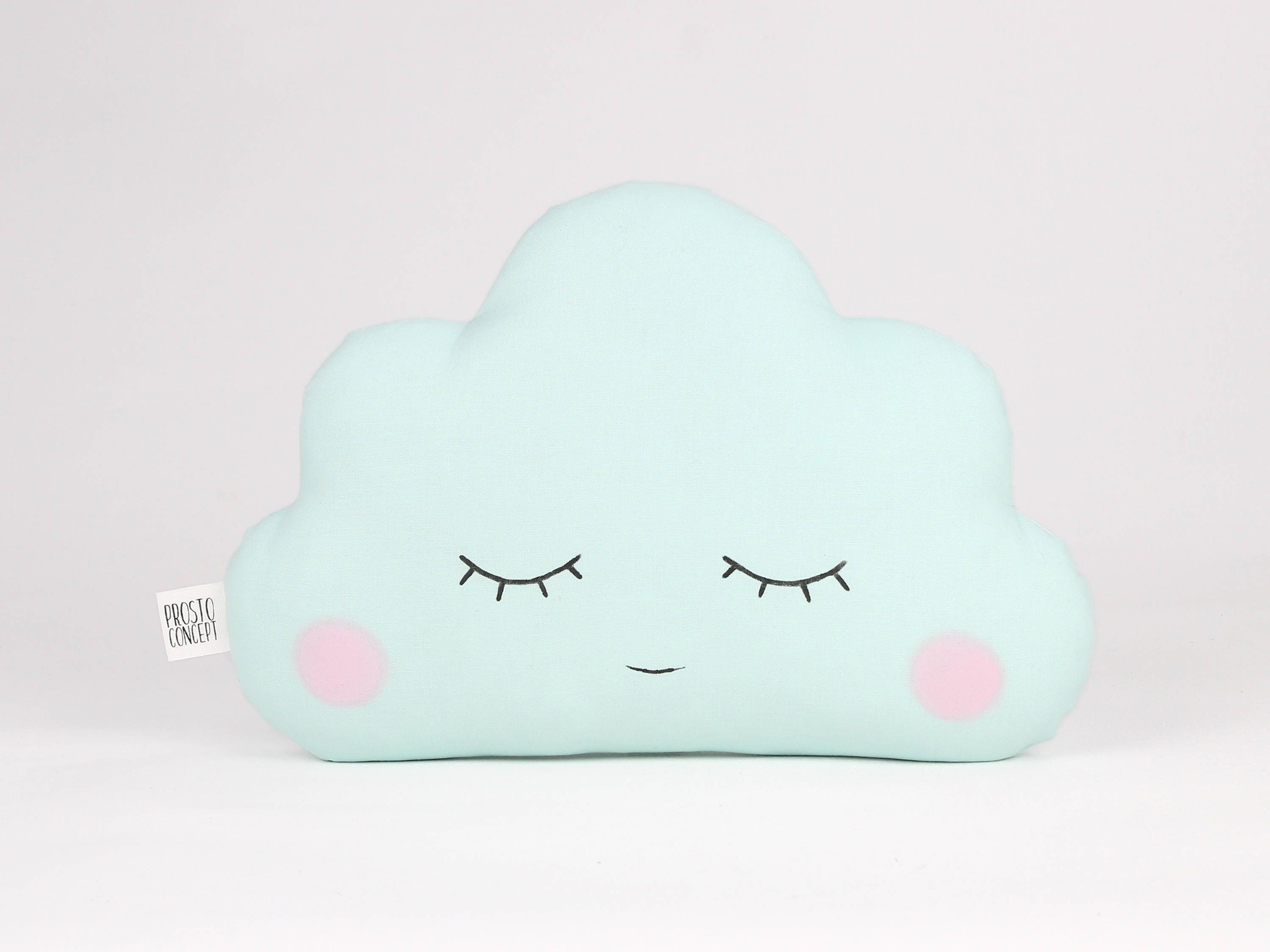 Mint baby cloud pillow cloud cushion baby gift kids cushion mint baby cloud pillow cloud cushion baby gift kids cushion kids throw pillow personalized baby pillow name pillow custom pillow negle Images