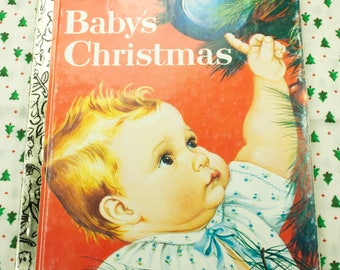 1991 Baby's Christmas Little Golden Book