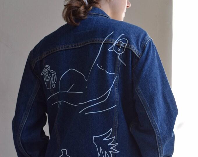 Wilson Reworked Levis Denim Jacket.