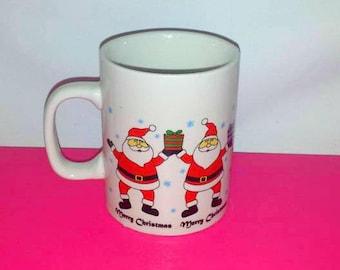 Vintage Merry Christmas Mug, Santa Mug, Royal Norfolk, Santa Cup,Santa Claus Mug, Merry Christmas Cup, Santa, Santa Claus, Retro