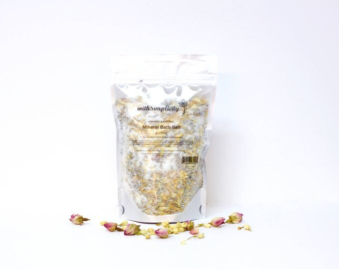 Floral Mineral Bath Salt