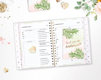 Printable Maid of Honor and Bridesmaid Planner • Printable Maid of Honor & Bridesmaid Gift • Maid of Honour Planner • Wedding Planner Binder