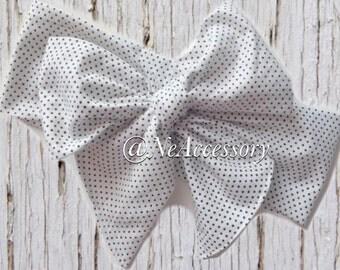 Dotted  headwrap, fabric head wrap, polka dot head wrap, boho, newborn headband,  baby headband, toddler headband