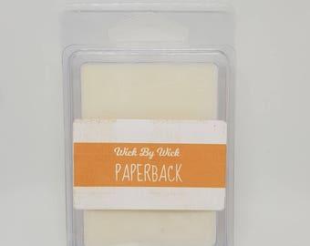 Paperback Novel Books Scented Soy Wax Melt