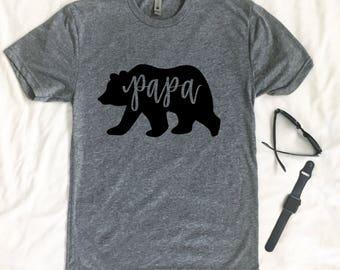 Papa Bear SVG - Papa Bear - Hand Lettered SVG - Dad SVG