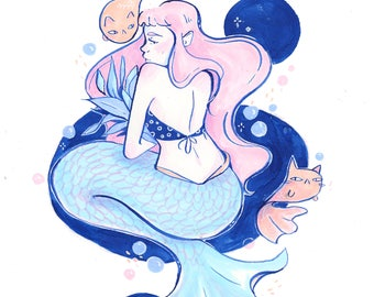 Mermay Original Art -- Eleven