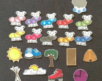 The Ants Go Marching Felt Set// Flannel Board // Imagination // Children // Preschool // Creative Play // Adventure // Song
