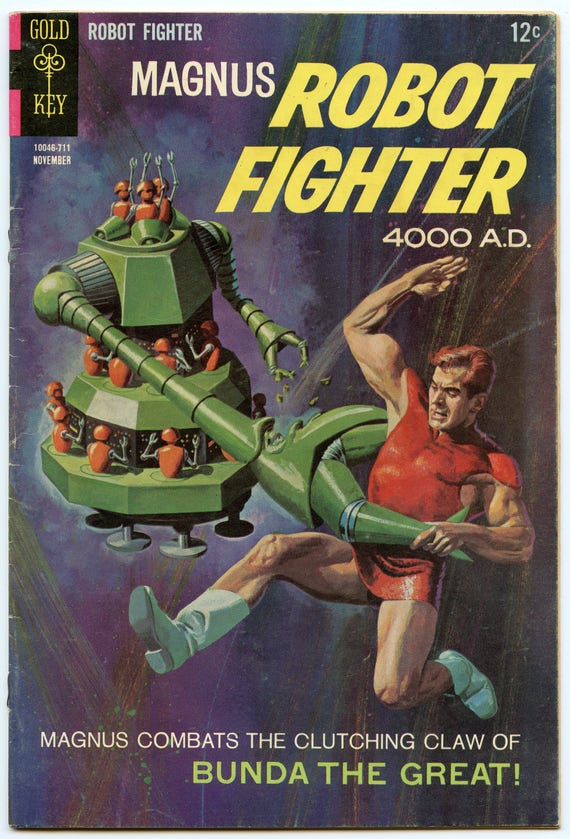 Magnus Robot Fighter 20 Nov 1967 VG/FI (5.0)