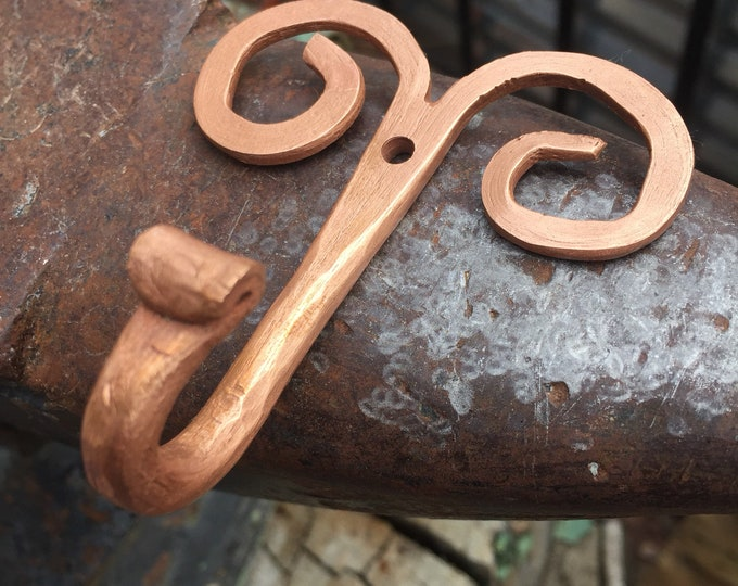 Handcrafted Copper Wall Hook