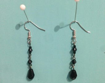 Black Diamond Dangle