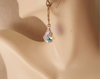 Swarovski crystal earrings  (ER106)
