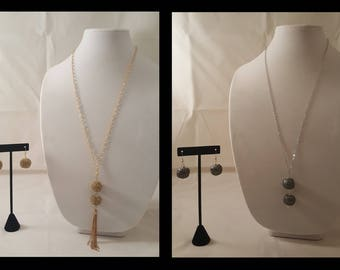 Gold Dangle Chain Necklace - Silver Dangle Chain Necklace - Chain Necklace - Gun Metal Necklace - Silver Necklace - Gold Necklace - Dangle