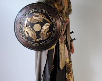 Hippolyta Shield inspired Wonder Woman 2017 movie