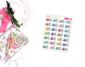 QUARTER SHEET - Pay Day LRP Littles, Script Planner Stickers for the Erin Condren Life Planner, Script Planner Sticker - [LC0004]