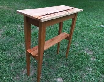 Hall Table - Maple/Cherry