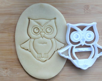 Owl 3D Printed Cookie Cutter | Fall