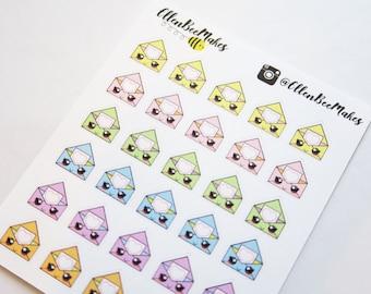 Kawaii Happy Mail Stickers