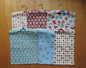 Peg Bag, Cotton Peg Bag, Laundry Peg Bag. Handmade