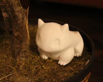 Bulbasaur Planter 3D Printed - Bulbasaur Flower Pot - Pokemon Flower Pot