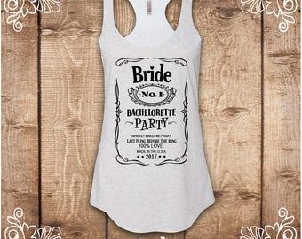 Bachelorette Party Shirts, Bride Tank Top, Bride Shirt, Bride Tanks, Bachelorette Tanks, Bridesmaid Shirts, Drinking Shirts, Bridesmaid Tank