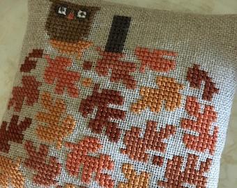 Pumpkin of Leaves- Design by Bent Creek