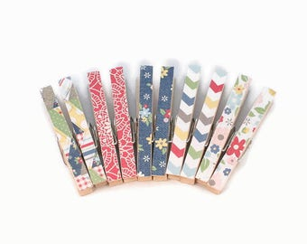 Decorative Clothespins, Magnetic Clothespins, Office Organization, Floral Clips, Bag Clips, Photo Holder, Place Card Holders, Office Decor
