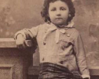 california child photo by boysen this antique cdv is precious
