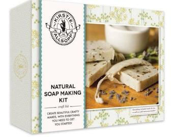Soap making set, Homemase soap, Soap kit, gift for her,Soap Making Craft Kit, Make Your Own Soap Kit, Kids Craft Kit, Christmas Gift