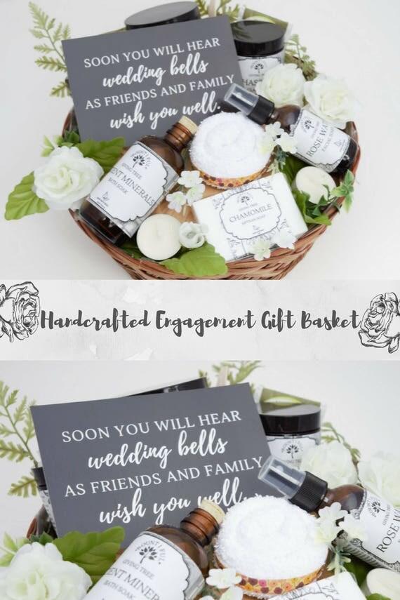 Congrats Gift Basket Engagement Gift Basket Newly Engaged