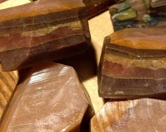 Tiger's Eye Chocolate Amber and Coconut Soap
