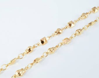 """18K Gold Filled Chain 17"""" Inch CG172"""