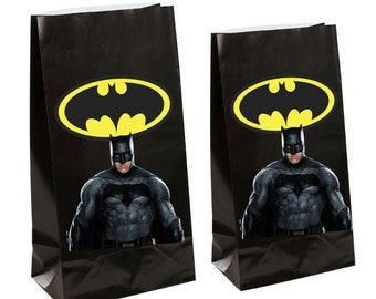 Dc Batman Party gift Favor Bags ~ Batman Birthday Party Inspired Decorations & Decor