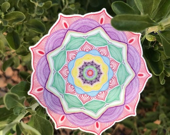 Mandala Sticker #1