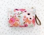 ADD a ZIPPER and WRISTLET to my diaper clutch! Buy this listing plus the diaper clutch of your choice for a larger, zippered clutch!