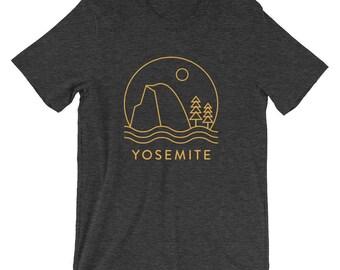 Half Dome in Yosemite National Park T-shirt
