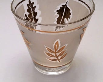 Libbey Golden Foliage Highball Glass