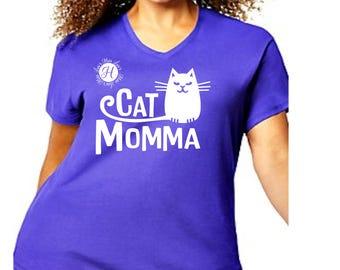 Cat momma  cat SVG   Animal svg dfx cut file  t-shirts scrapbook vinyl decal wood sign cricut cameo Commercial use