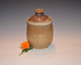 Caramel Apple Lidded Jar