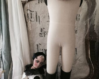 Napoleon mannequin child not old, with collar-rare