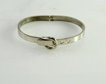 Belt Buckle Bracelet