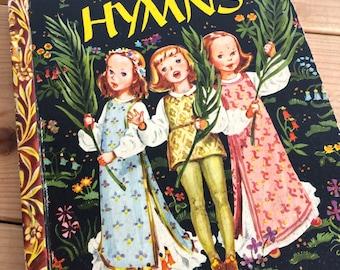 1950s Little Golden Book of Hymns - Childrens Book