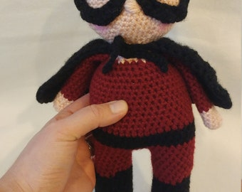 "Crochet Superhero Doll-""Dash"""