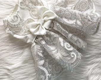 dog clothes, dog dress, puppy dress, dog wedding dress, dog clothes, dog wedding, Antoinett