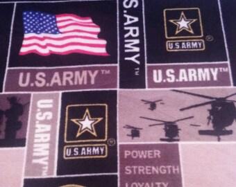 Army Fleece Blanket