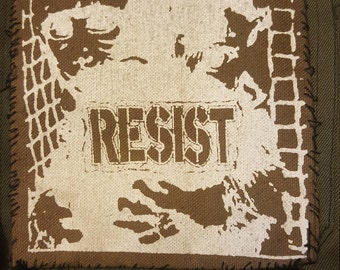 "Resist ""Animal Rights"" patch"
