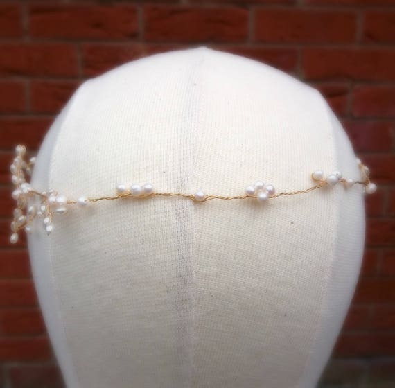 Grecian Inspired Boho Bridal Headpiece